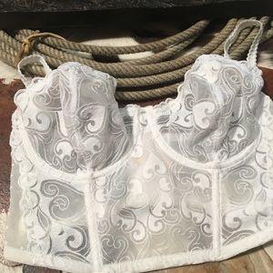Gilligan & O'Malley luxe corset